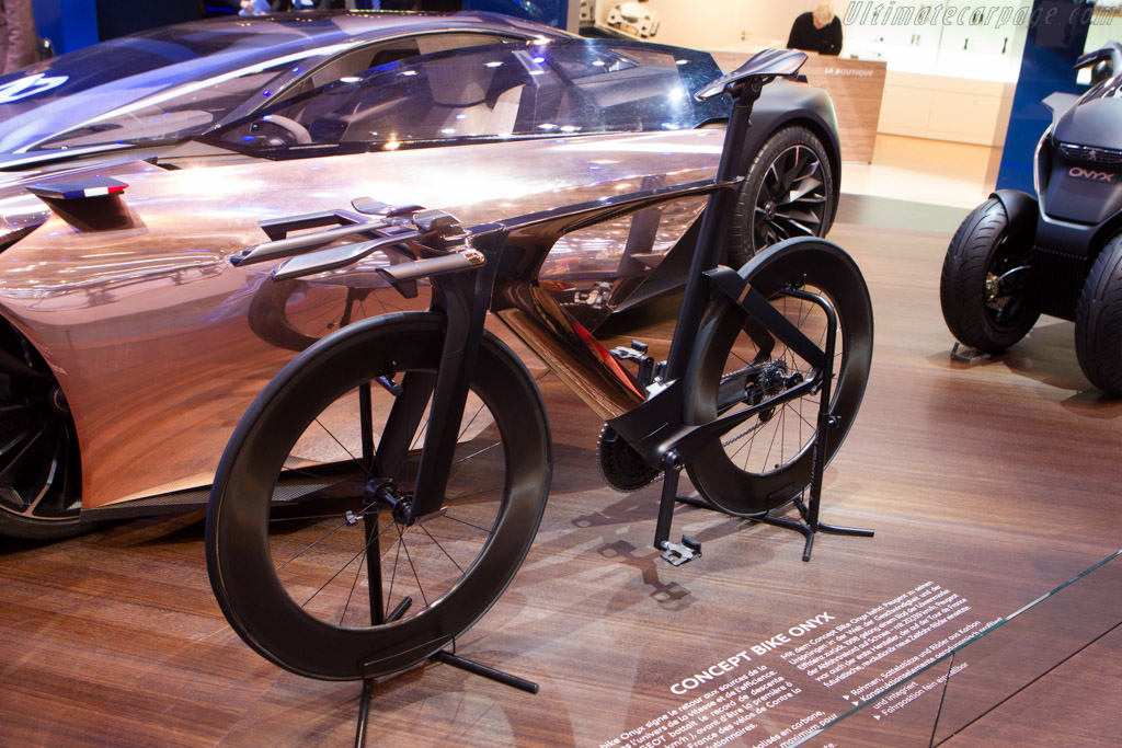 Peugeot Onyx Bike Concept    - 2013 Geneva International Motor Show