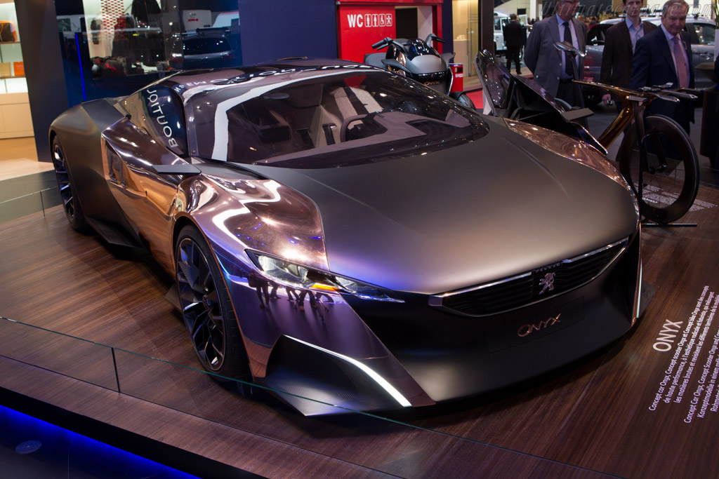 Peugeot Onyx Concept    - 2013 Geneva International Motor Show