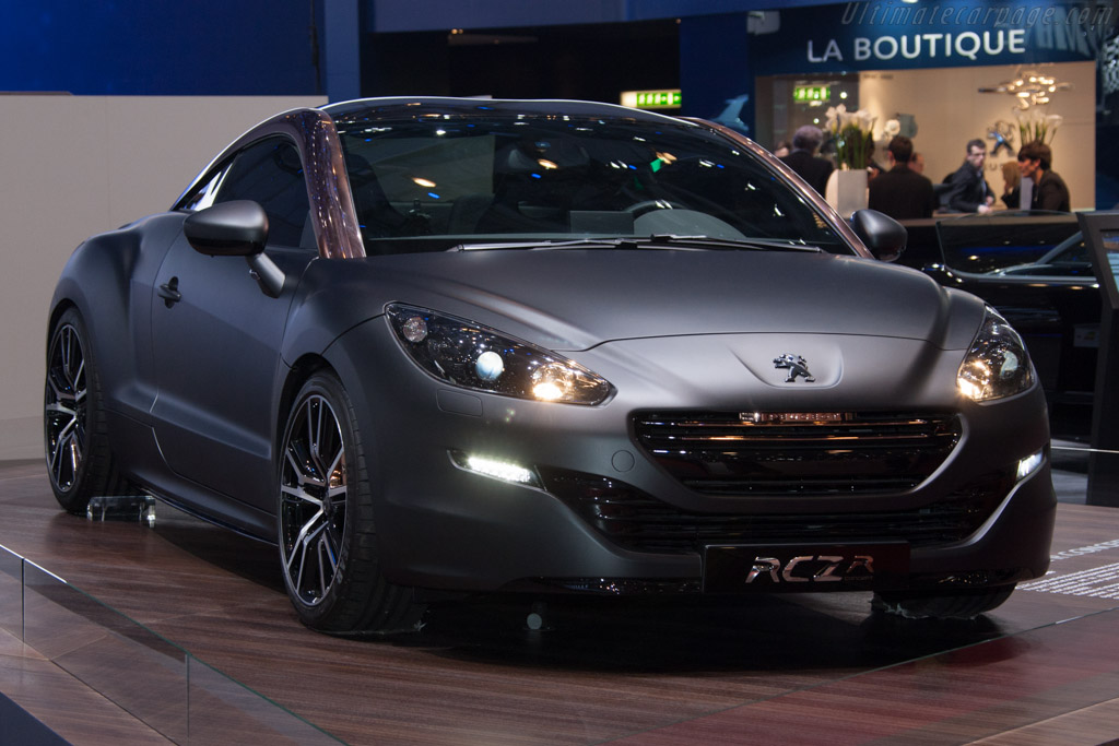 Peugeot RCZ-R    - 2013 Geneva International Motor Show