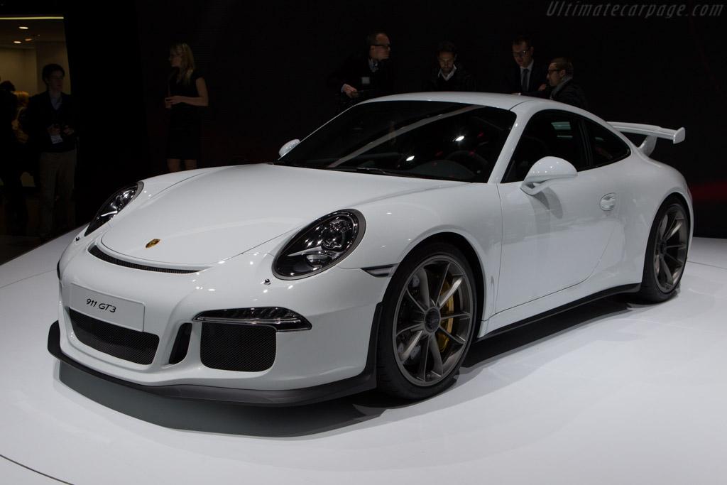 Porsche 911 GT3    - 2013 Geneva International Motor Show