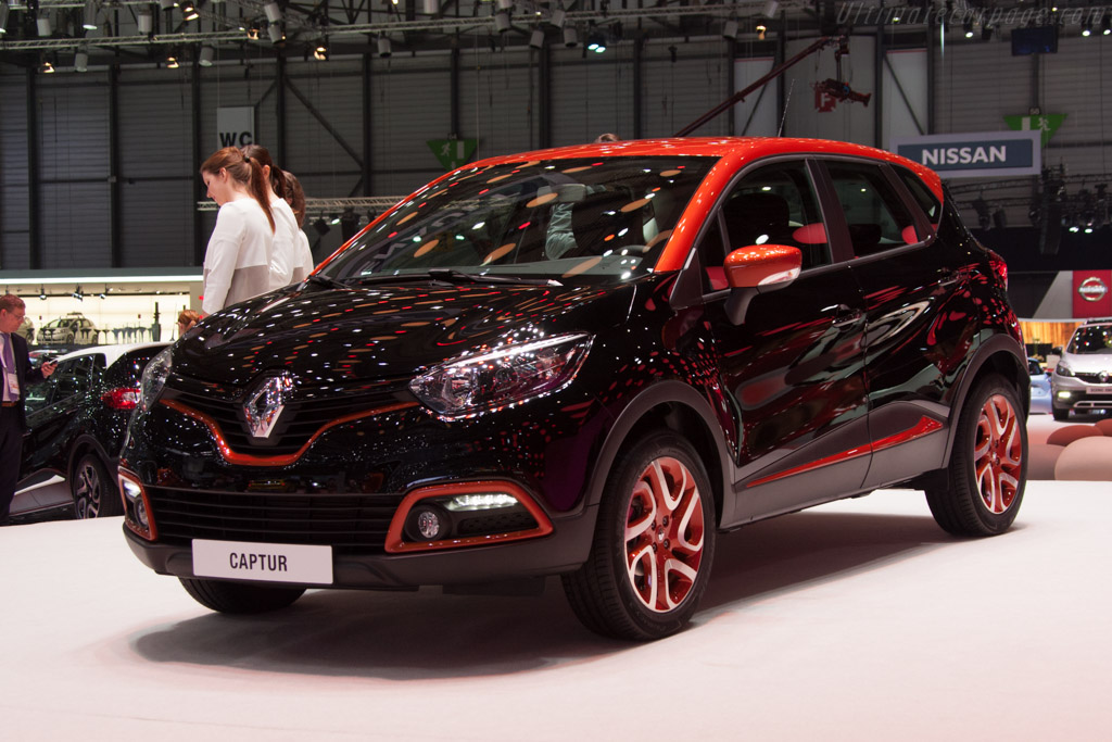 Renault Captur    - 2013 Geneva International Motor Show