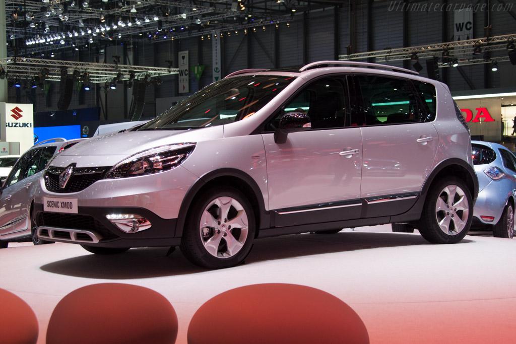Renault Scenic Xmod    - 2013 Geneva International Motor Show