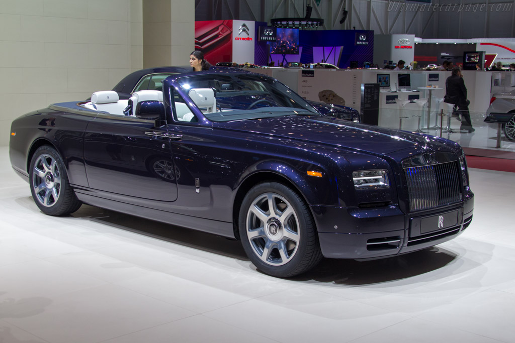 Rolls-Royce Phantom DHC    - 2013 Geneva International Motor Show