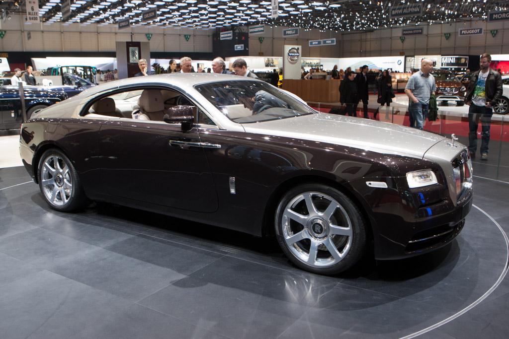 Rolls-Royce Wraith    - 2013 Geneva International Motor Show