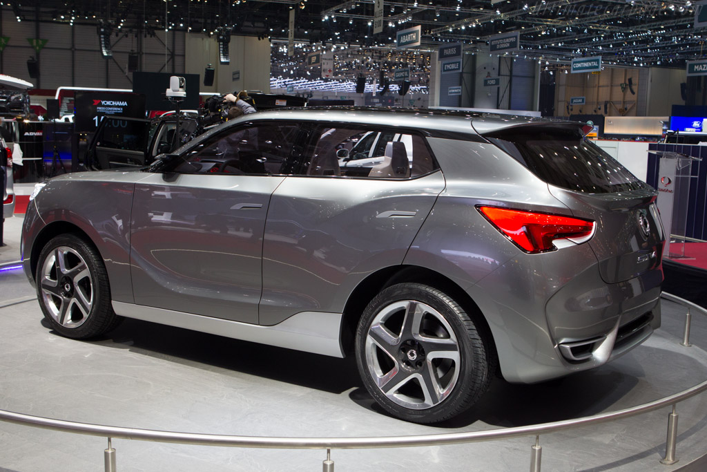 SsangYong SIV Concept    - 2013 Geneva International Motor Show