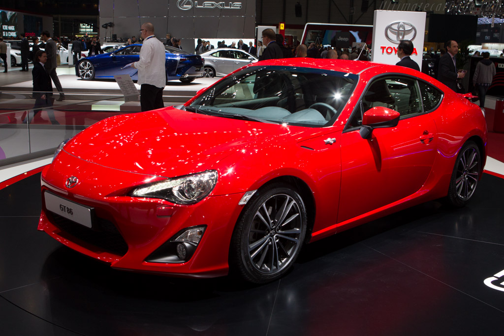 Toyota GT 86    - 2013 Geneva International Motor Show