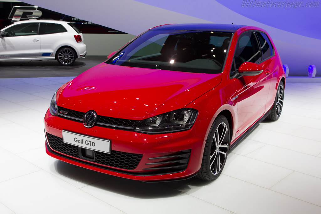 Volkswagen Golf GTD    - 2013 Geneva International Motor Show