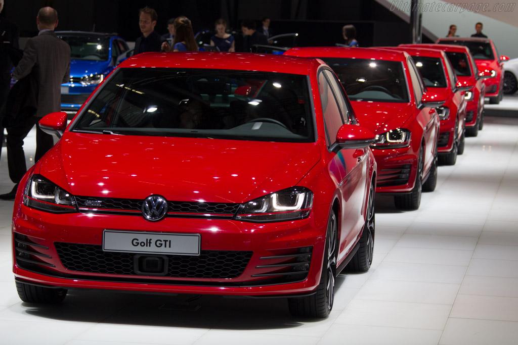 Volkswagen Golf GTI    - 2013 Geneva International Motor Show