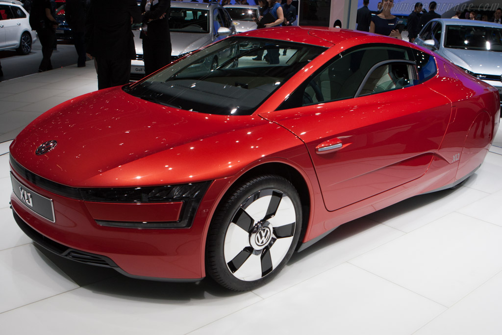 Volkswagen XL1    - 2013 Geneva International Motor Show