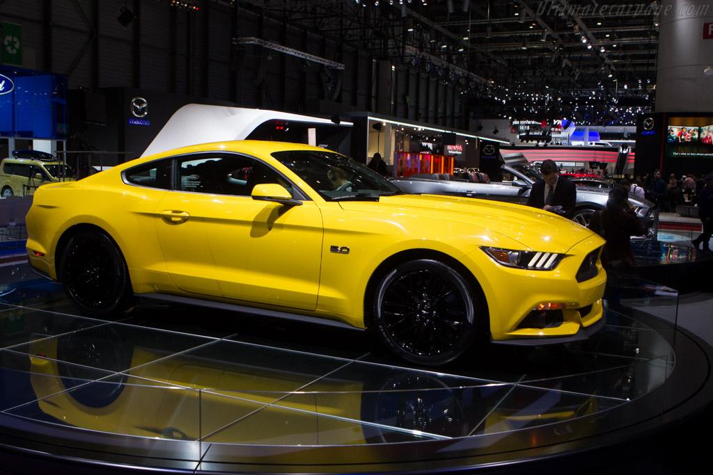 Ford Mustang Gt 2014 Geneva International Motor Show