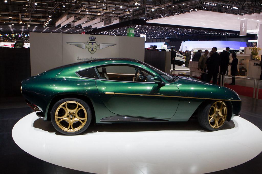 Alfa Romeo Disco Volante by Touring    - 2014 Geneva International Motor Show