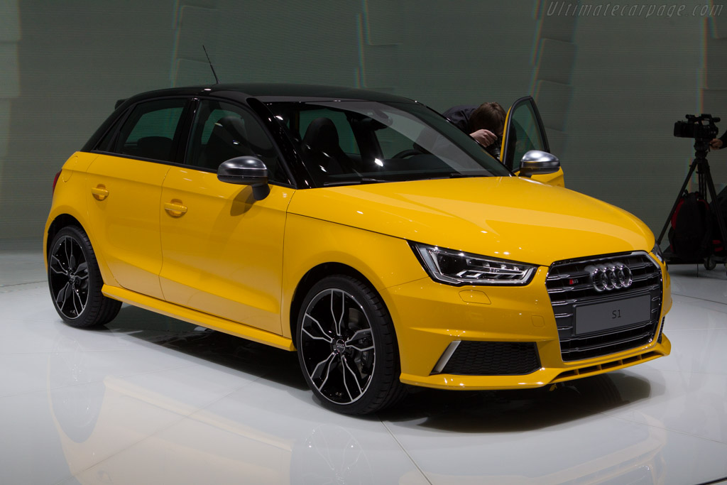 Audi S1    - 2014 Geneva International Motor Show