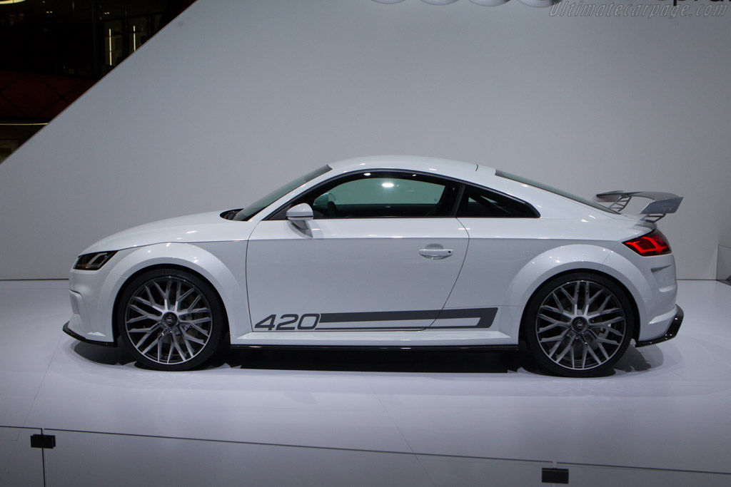 Audi Tt Sport Quattro 2014 Geneva International Motor Show