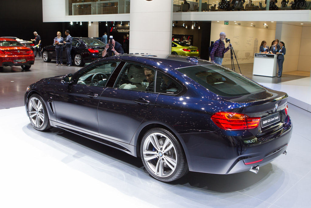 BMW 435i Gran Coupe    - 2014 Geneva International Motor Show