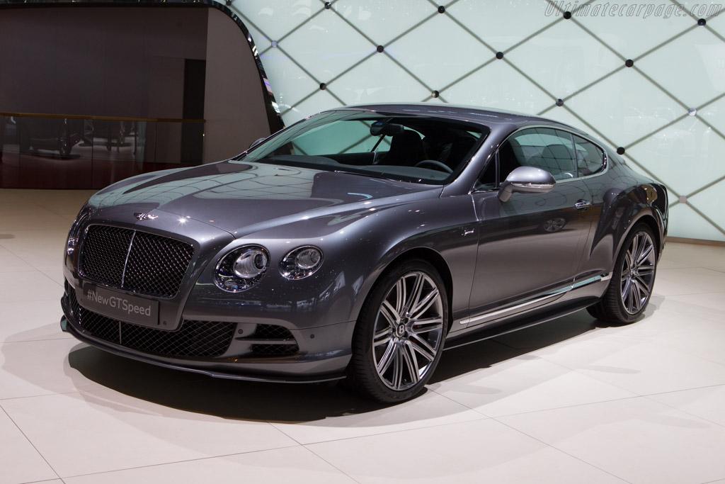 Bentley Continental GT Speed    - 2014 Geneva International Motor Show