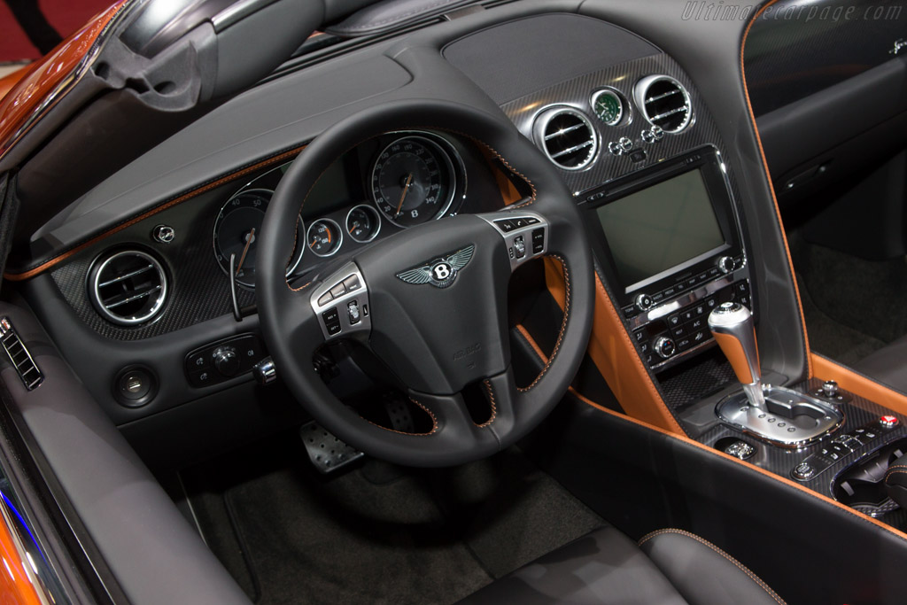 Bentley Continental GT Speed Convertible    - 2014 Geneva International Motor Show