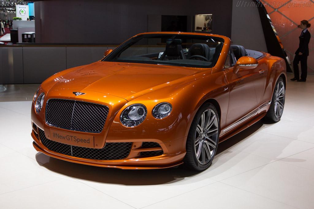 Bentley Continental GT Speed Convertible    - 2014 Geneva International Motor Show