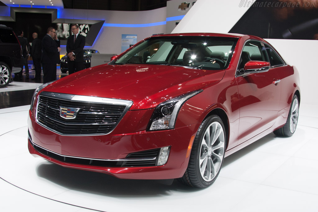 Cadillac ATS    - 2014 Geneva International Motor Show