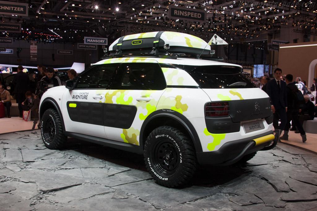 Citroën C4 Cactus Aventure    - 2014 Geneva International Motor Show