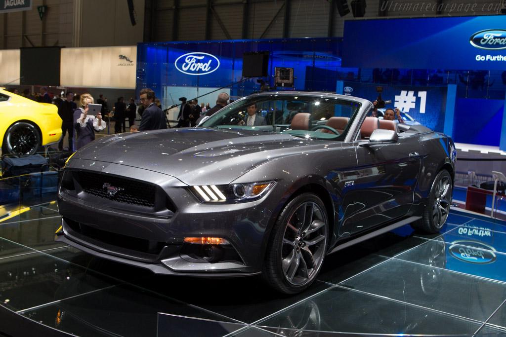 Ford Mustang GT Convertible    - 2014 Geneva International Motor Show