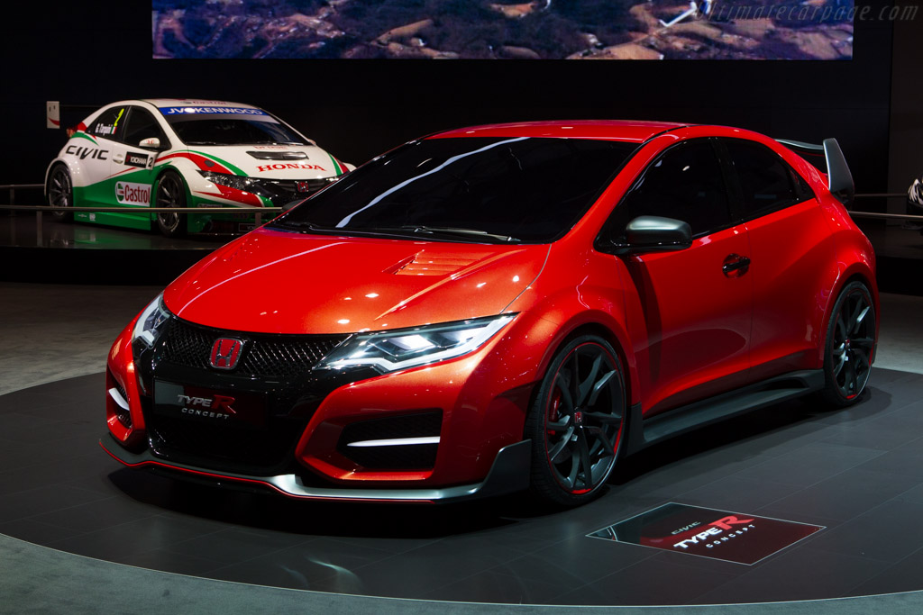 Honda Civic Type R    - 2014 Geneva International Motor Show