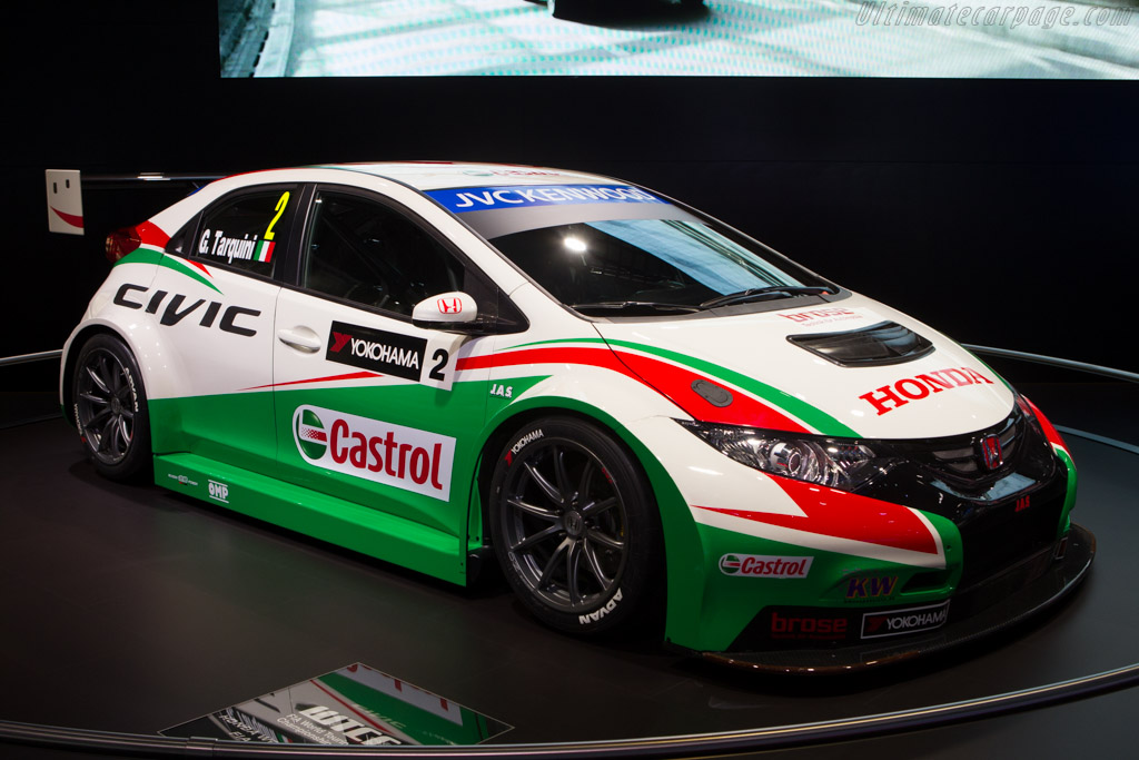 Honda Civic WTCC    - 2014 Geneva International Motor Show