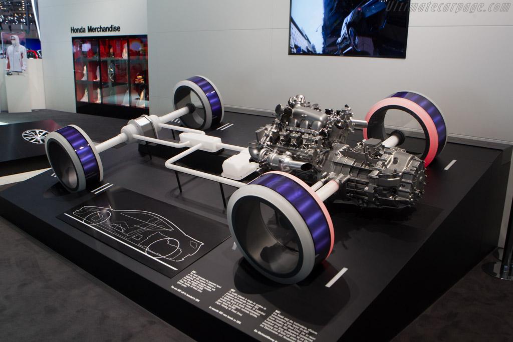 Honda NSX Concept    - 2014 Geneva International Motor Show