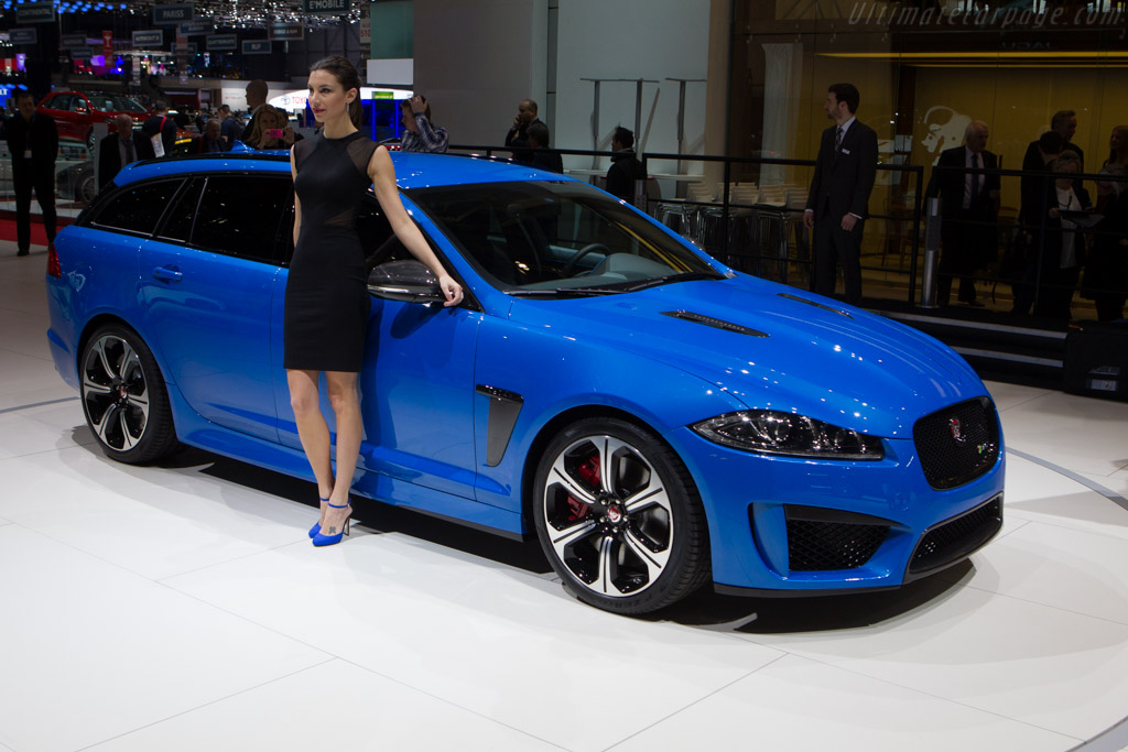 Jaguar XFR-S Shooting Brake    - 2014 Geneva International Motor Show