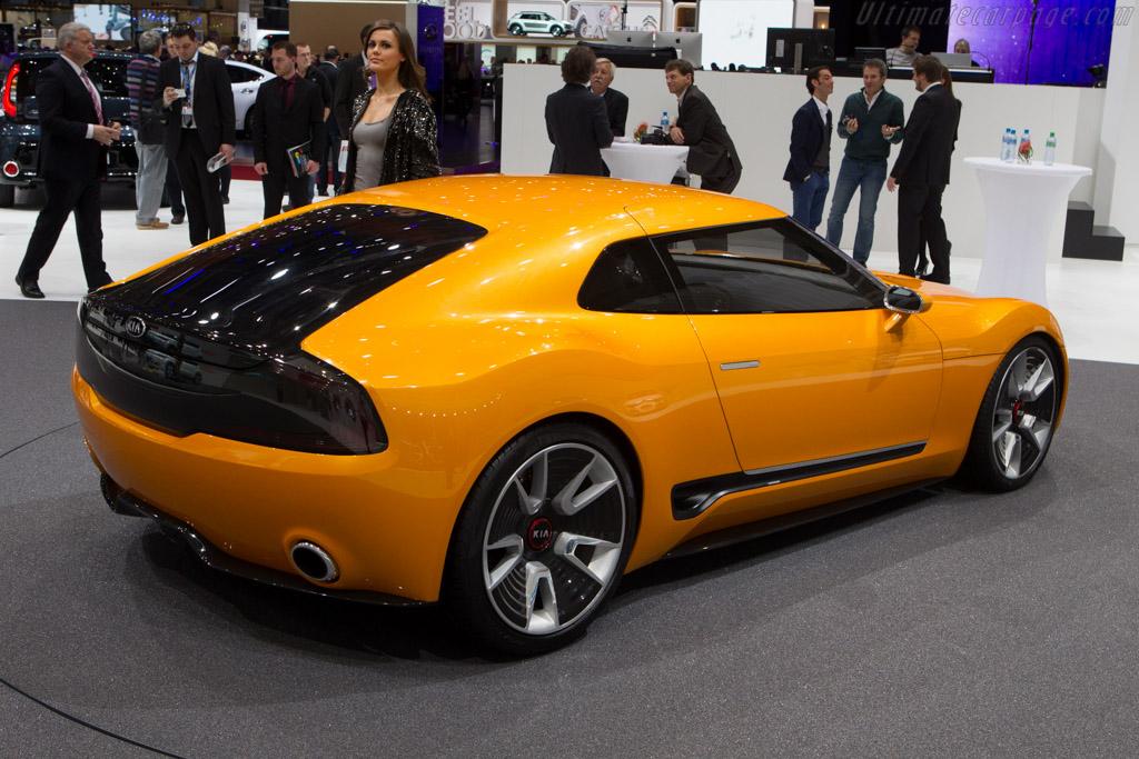 Kia  GT4 Stinger   - 2014 Geneva International Motor Show