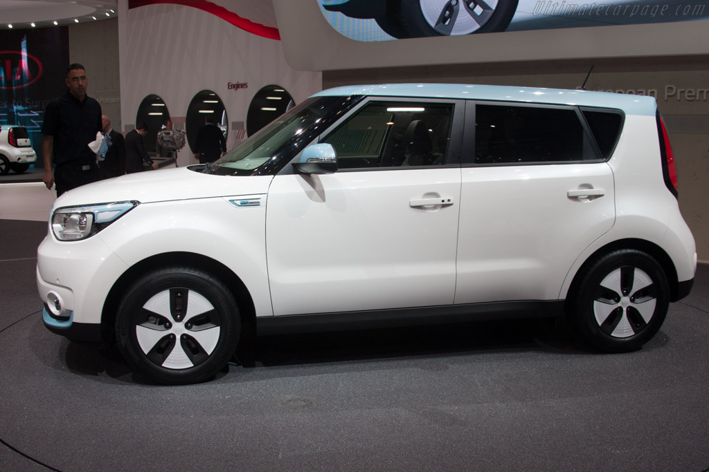 Kia Soul Ev 2014 Geneva International Motor Show