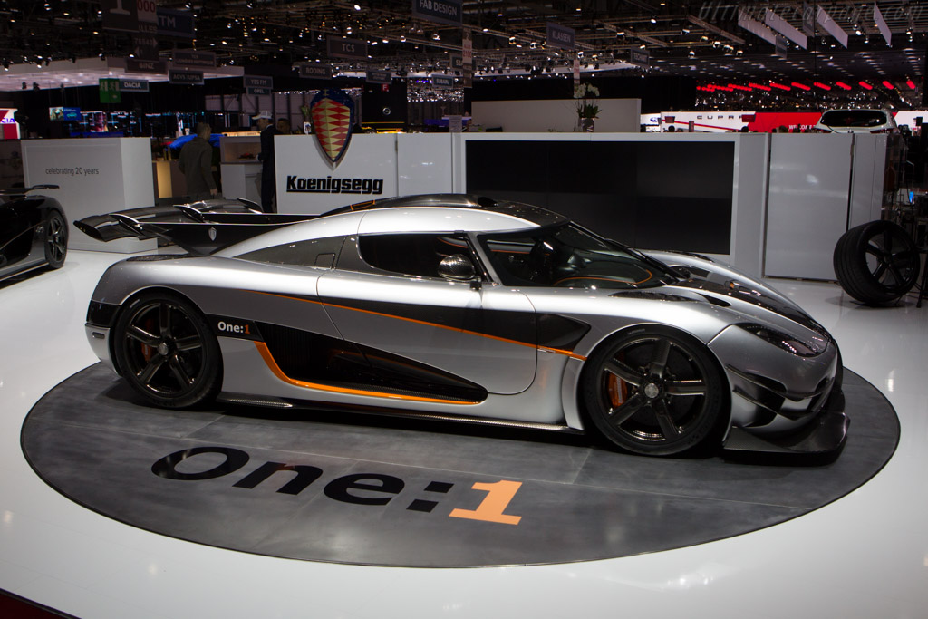 Koenigsegg One:1 - Chassis: 7106   - 2014 Geneva International Motor Show