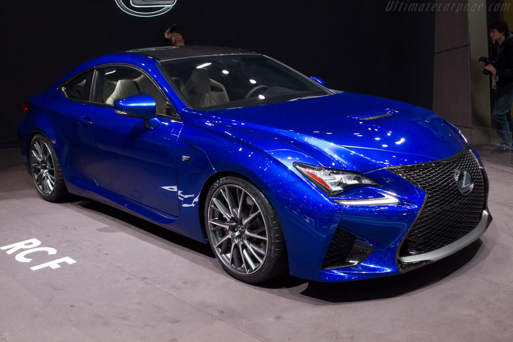 Lexus RC F    - 2014 Geneva International Motor Show