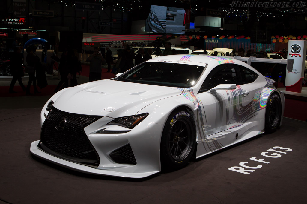 Lexus RC F GT3    - 2014 Geneva International Motor Show