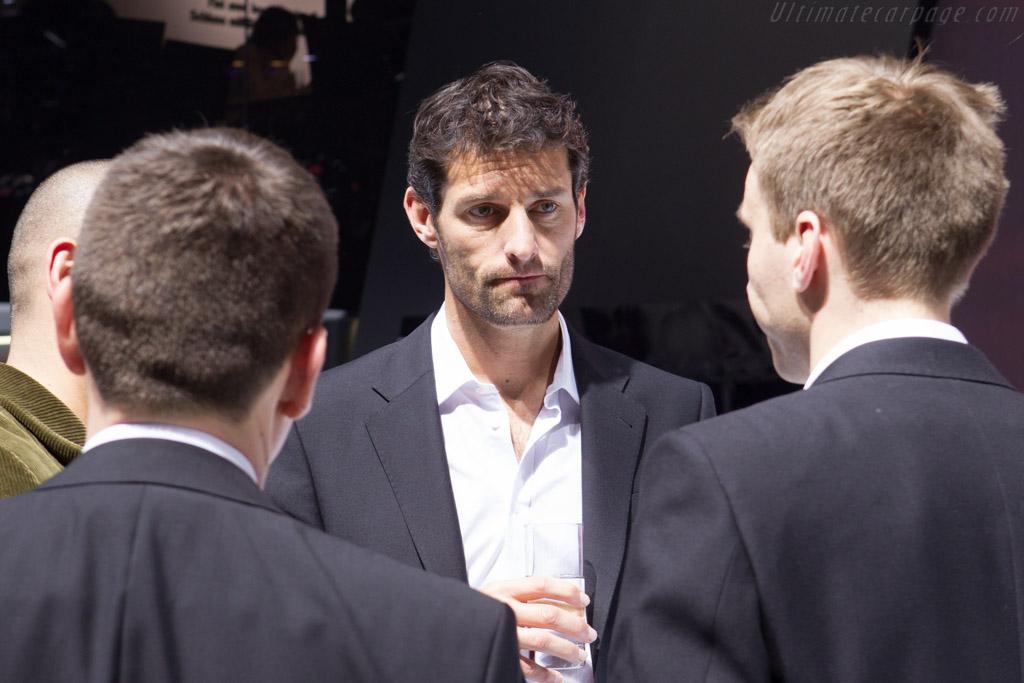 Mark Webber    - 2014 Geneva International Motor Show