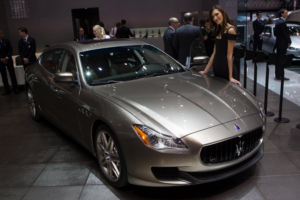 Maserati Quattroporte    - 2014 Geneva International Motor Show