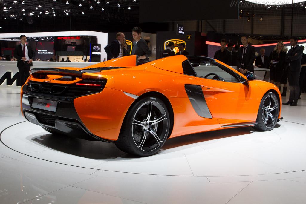McLaren 650S Spider    - 2014 Geneva International Motor Show