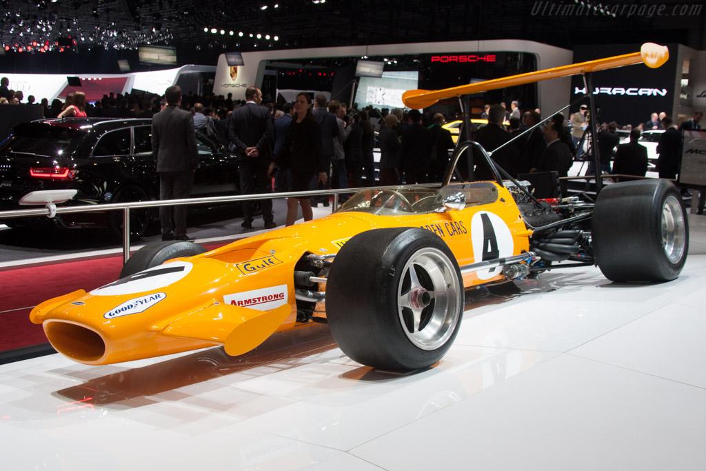 McLaren M7C Cosworth - Chassis: M7C/1   - 2014 Geneva International Motor Show