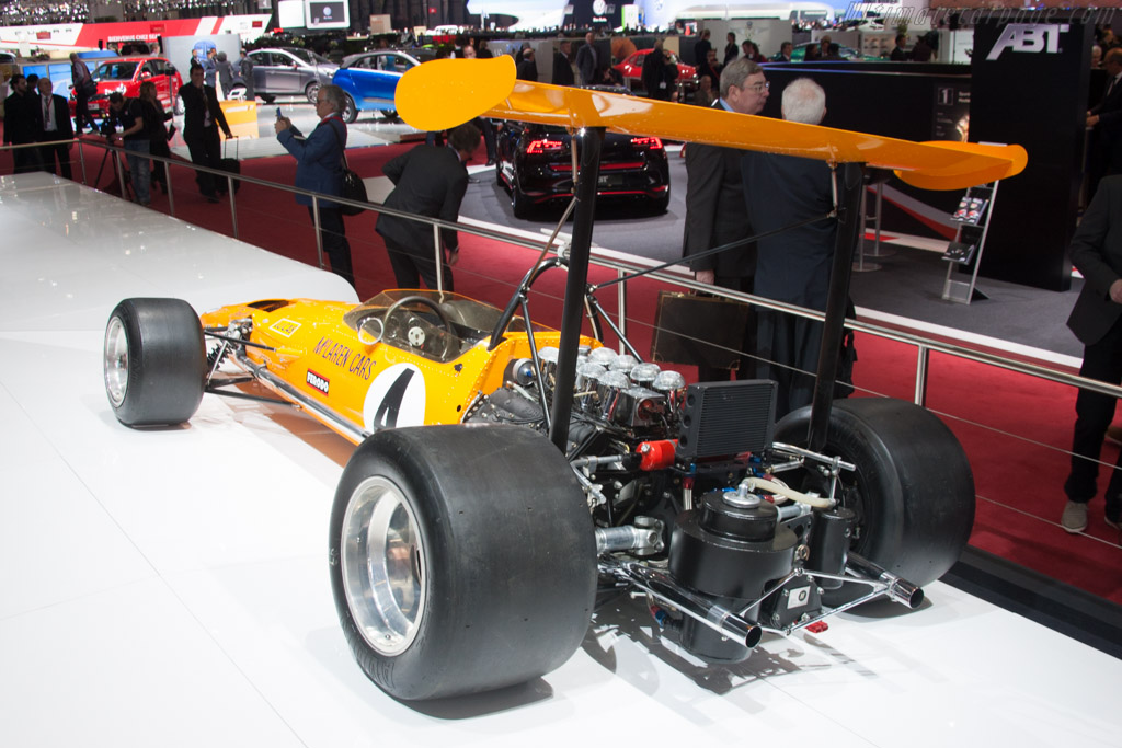 McLaren M7C Cosworth - Chassis: M7C/1   - 2014 Geneva International Motor Show