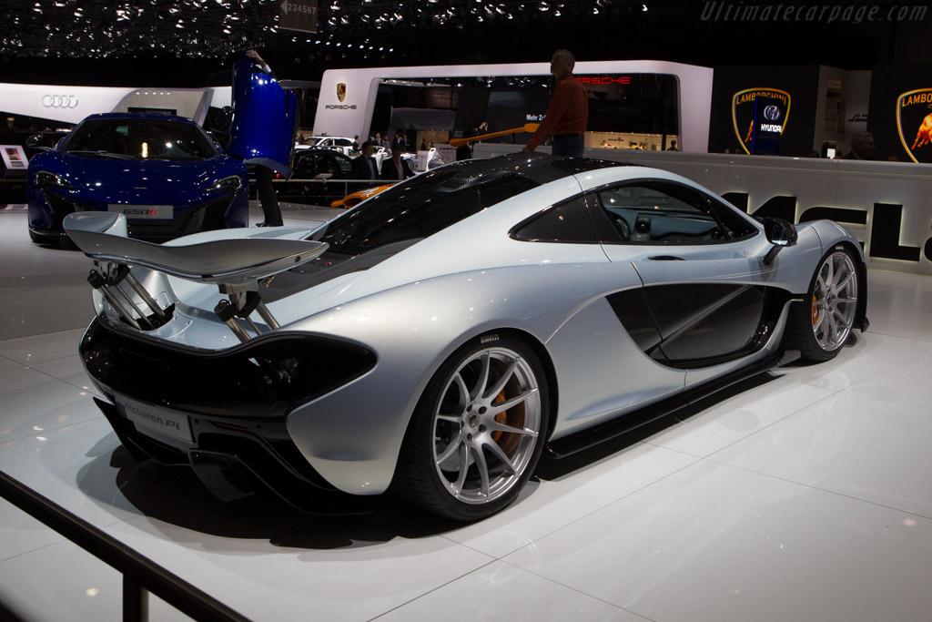 McLaren P1    - 2014 Geneva International Motor Show