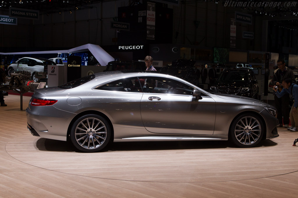 Mercedes benz s class coupe 2014 geneva international for International mercedes benz