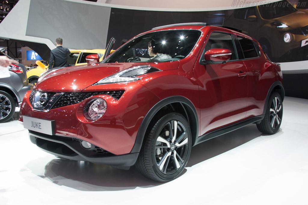 Nissan Juke    - 2014 Geneva International Motor Show