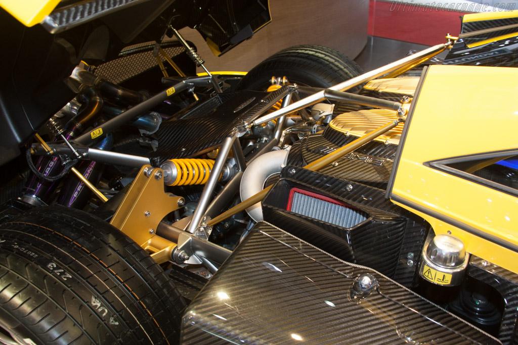 Pagani Huayra - Chassis: ZA9H11RAYYSF76033   - 2014 Geneva International Motor Show