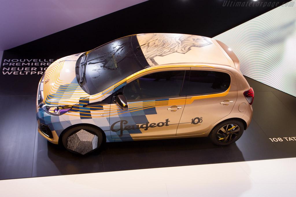 Peugeot 108   - 2014 Geneva International Motor Show