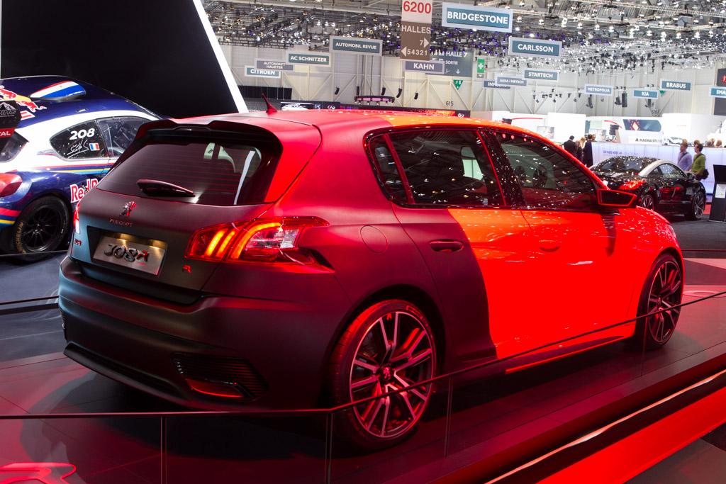 Peugeot 308 R    - 2014 Geneva International Motor Show