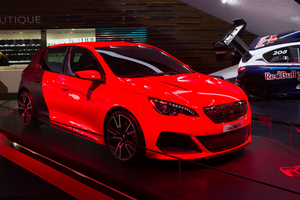 Peugeot 308 R    - 2014 Geneva International Motor Show