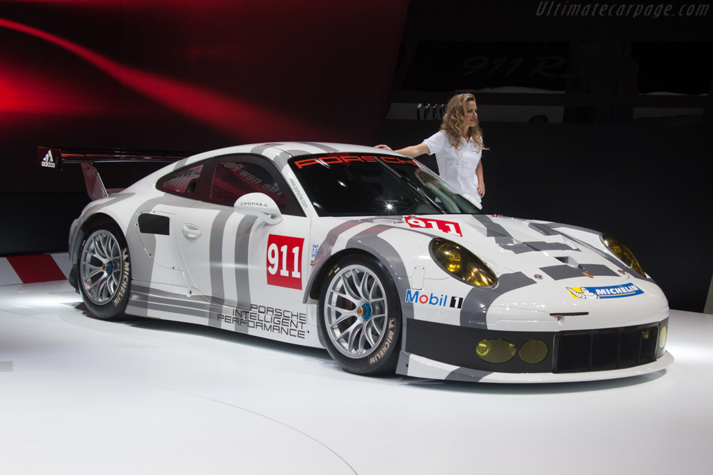 Porsche 911 RSR    - 2014 Geneva International Motor Show