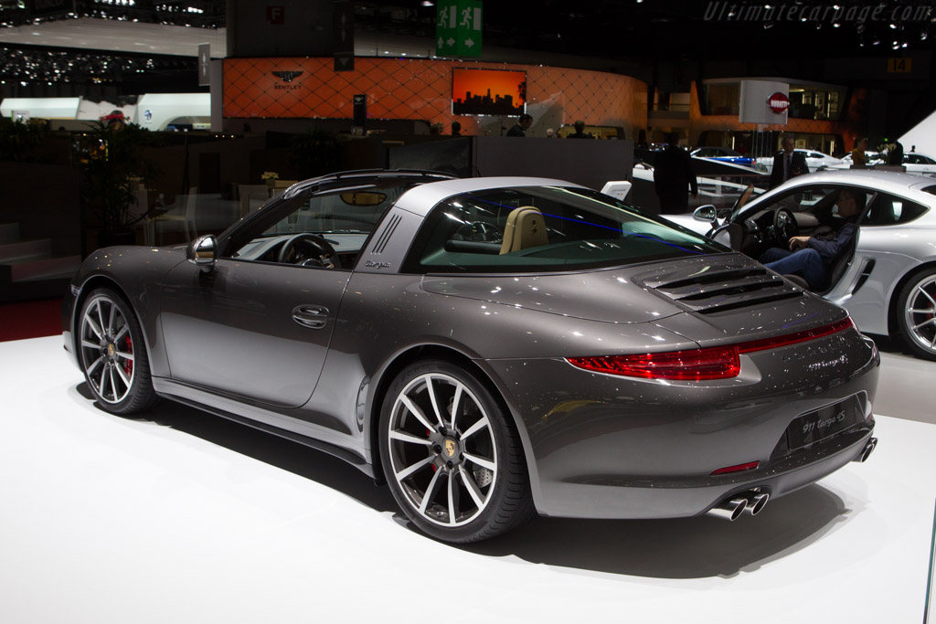 Porsche 911 Targa 4s 2014 Geneva International Motor Show