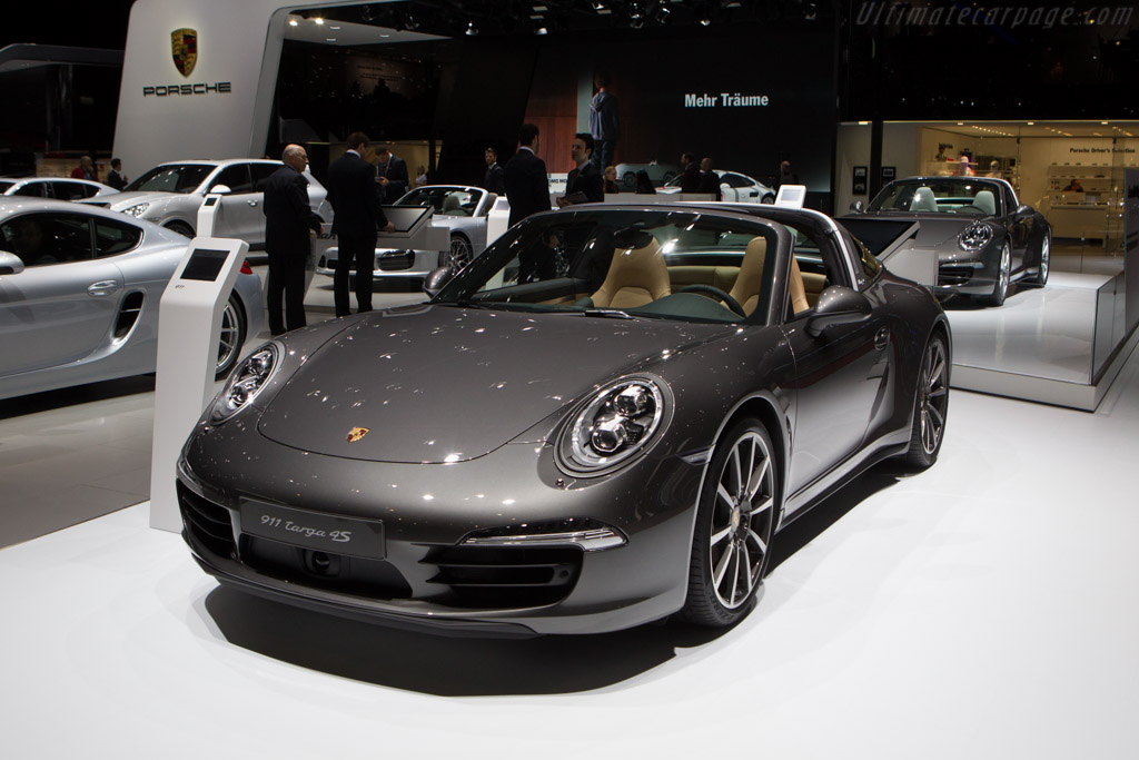 Porsche 911 Targa 4S    - 2014 Geneva International Motor Show