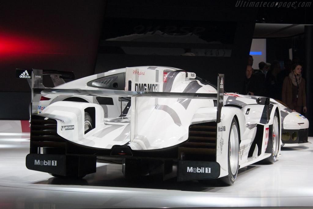 Porsche 919 hybrid    - 2014 Geneva International Motor Show