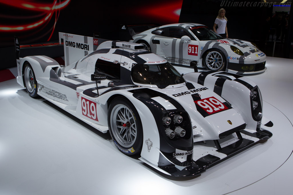 Porsche 919 hybrid    - 2014 Geneva International Motor Show